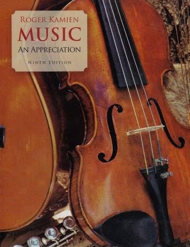 Music: An Appreciation [With CD] (Music: An Appreciation (W/CD))