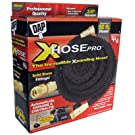Dap 9104 Xhose PRO The Original Expanding Hose with Black Solid Brass Fittings, 50-Feet