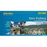 Bikeline Radtourenbuch, Enns-Radweg: Von der Quelle zur Donau, 1 : 50 000, 264km, wetterfest/reißfest, GPS-Tracks Download