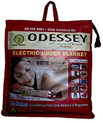 Odessey Products Electric Blanket(Double bed150x150)