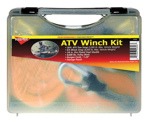 Buy Bargain Keeper 02806 ATV Winch Accessory Kit