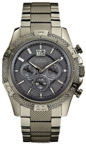 GUESS Men's Boldly Detailed Sport Chronograph Watch