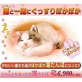 【あんか】猫ゆたんぽ にゃんともあったか湯たんぽ
