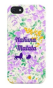 The Fappy Store Hakuna Matata plastic Back Cover for iphone 5 & 5s