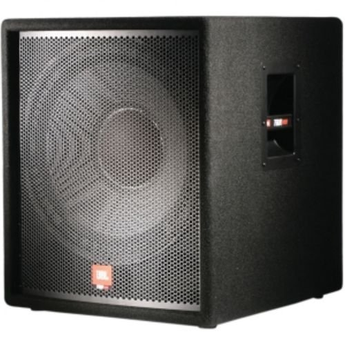 Jbl  Jrx118Sp Self-Powered Single 18-Inch 350 Watt Subwoofer, Dual Inputs, Built In Crossover