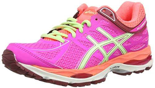 ASICS Gel-Cumulus 17 - Scarpe Da Corsa da donna, colore rosa (pink glow/pistachio/flash cora 3587), taglia 39.5 (6 UK)