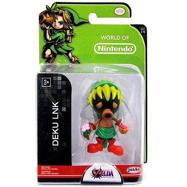 "World of Nintendo 86734 2.5"" 8 Deku Action Figure"