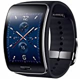 New Samsung Galaxy Gear S Smart Watch SM-R750V Curved CDMA Verizon Black New Other