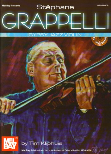 Grappelli Stephane Gypsy Jazz Violin CD (Mel Bay Presents)
