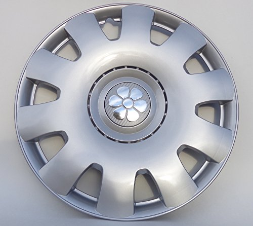 VW Beetle Hub Cap 16 inch Silver Daisy Center Set of 4