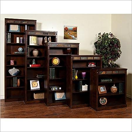 """Sunny Designs 2952DC-36 Santa Fe Bookcase, 36"""""""