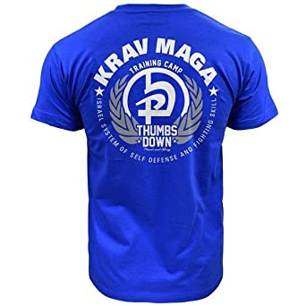 Krav Maga Israel System Of Self Defense And Fighting Skill T-shirt (size Small)