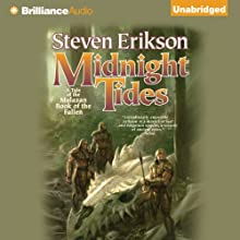 Midnight Tides: Malazan Book of the Fallen Series, Book 5 Audiobook by Steven Erikson Narrated by Michael Page