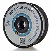 3D Solutech - 1.75mm See through Natural Clear PLA 1.1 LBS (0.5KG) Filament for Makerbot, Reprap, Afinia, UP and common 3D Printer. MADE IN USA by 3D Solutech