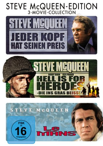 Steve McQueen-Edition: 3-Movie-Collection [3 DVDs]