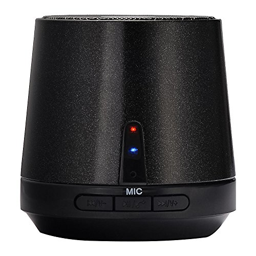 Mudder Super Bass Wireless Bluetooth Speaker With Noise Reduction Mic And 10 Hours Of Playtime (Black)