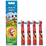Braun Oral-B Stages Power Kids Aufsteckbürsten Micky Maus 4er Pack