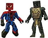 2012 Comic Con SDCC EX Marvel Minimates Amazing Spider-Man Movie Sewer 2 Pack