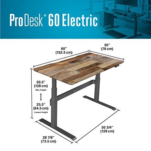 VARIDESK – Full Electric Desk – PRODESK 60 ELECTRIC