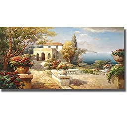 Tuscan Path by Roberto Lombardi Premium Gallery-Wrapped Canvas Giclee Art (Ready to Hang)