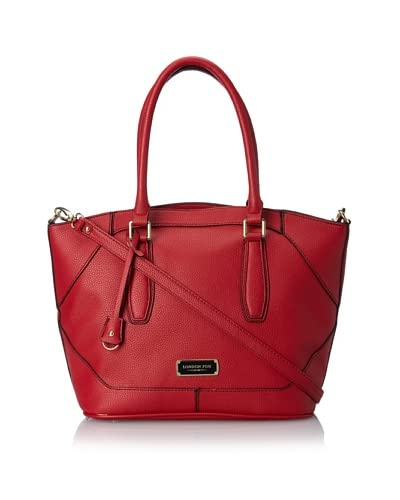 London Fog Women's Avery Shopper, Red As You See