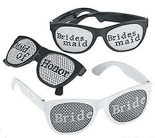 Bridal Party Pinhole Glasses (6pcs)