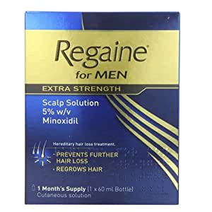 Regaine for Men Extra Strength Hair Regrowth Solution - 60 ml