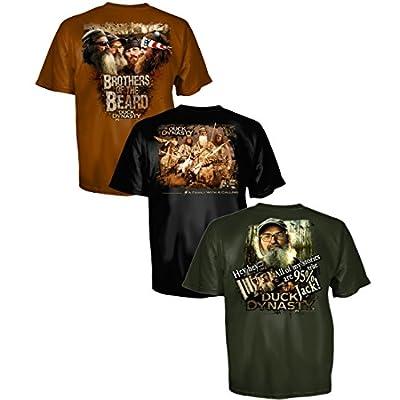 Duck Dynasty 3 Pack Bundle Men's T-Shirts