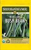 Seeds of Change S14121 Certified Organic Blue Lake Bush Bean