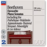 Beethoven: Favourite Piano Sonatas (2 CDs)