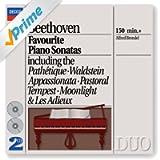 Beethoven: Favourite Piano Sonatas (2 CDs)