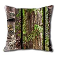 Vivid Image Printing Tree Wear By Nature Standard Size Design Square Pillowcase/Cotton Pillowcase with Invisible Zipper in 40*40CM (5241)-52410 from Square Pillowcase