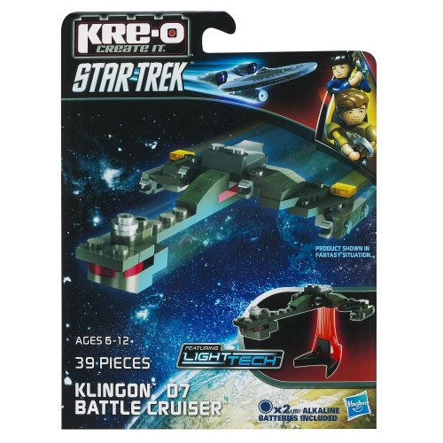 KRE-O Star Trek Klingon D7 Battle Cruiser Construction Set (A3369) - 1