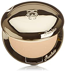 Guerlain Les Voilettes Translucent Compact Powder for Women, 3 Medium, 0.22 Ounce