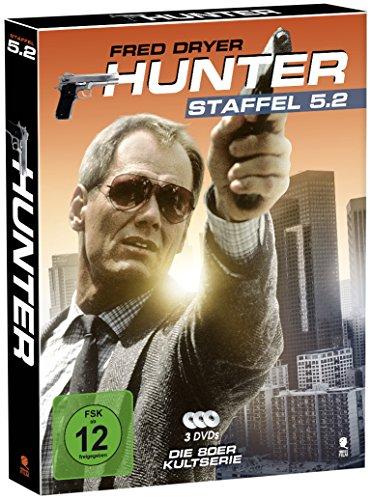 Hunter - Gnadenlose Jagd (Staffel 5.2 auf 3 DVDs im Digipack mit Schuber plus Episodenguide)