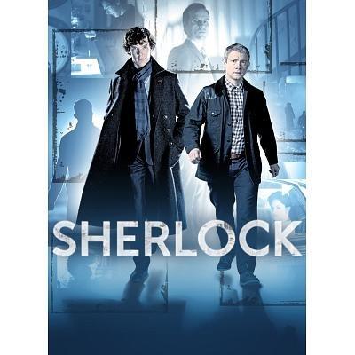 (24x36) Sherlock - Benedict Cumberbatch and Martin Freeman TV Poster
