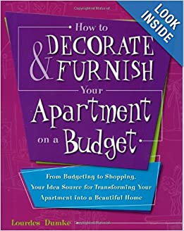 How to decorate and furnish your apartment on a budget for Furnish an apartment on a budget
