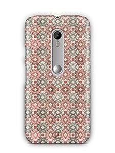 YuBingo Square Patterns Mobile Case Back Cover for Motorola G3 Turbo
