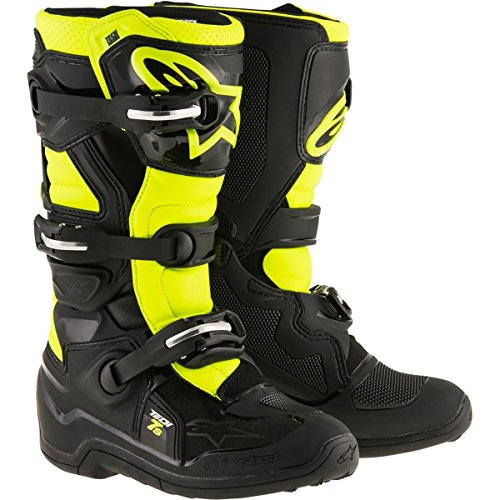 Alpinestars-Black-Yellow-Flourescent-2017-Tech-7S-Kids-MX-Boot