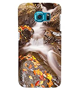 Omnam Waterfall Printed Designer Back Cover Case For Samsung Galaxy S7