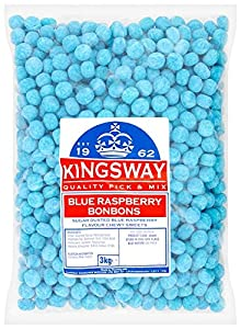 Kingsway Bonbons Sour Blue Raspberry 3 Kg