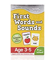 Bright Sparks First Words & Sounds Book