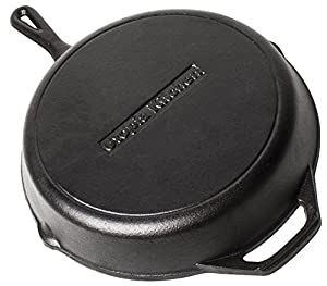 Utopia Kitchen Pre-Seasoned Cast-Iron Skillet, 12.5 inch