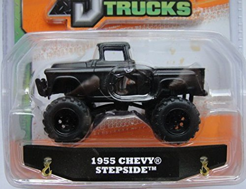Jada 1:64 Just Trucks 2014 Wave 6 Black 1955 Chevy Stepside