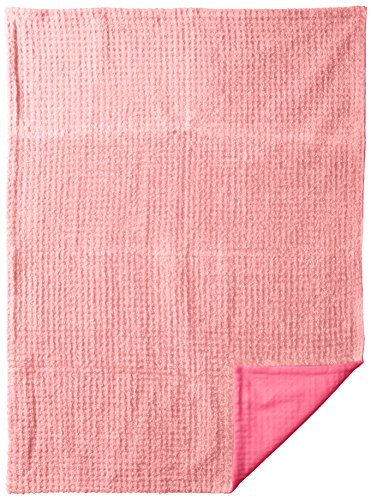 Contemporary Baby Chenille Throw Hot Pink