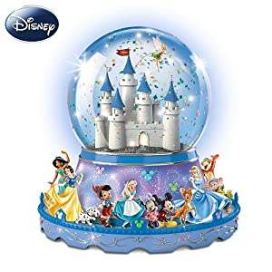 Disney Characters Parade Light-Up Musical Water Globe by Ardleigh Elliott by Ardleigh Elliott