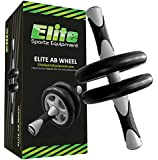 Ab Wheel - Highest Rated Ab Roller on Amazon Because it Works - Smooth Workout - Comes Fully Assembled to Workout Instantly, Sturdy and Very Durable. Buyers Love it...