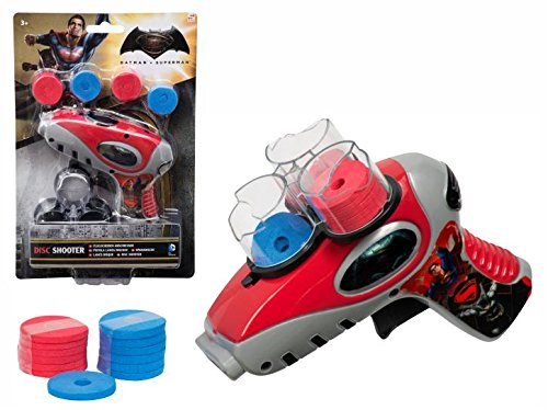 marvel-batman-vs-superman-kids-comic-character-print-disc-shooter-toy-multicolour-one-size