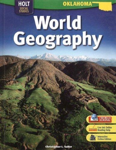 World Geography Grades 6-8: Holt World Geography Oklahoma