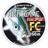 ユニチカ(UNITIKA) ライン ナイトゲーム ザ・アジFC 150m ナチュラルクリアー2LB ナチュラルクリアー